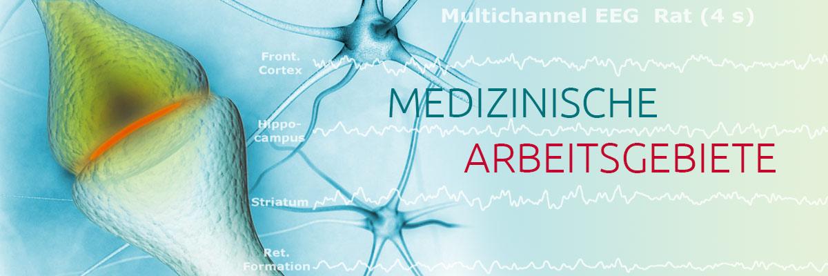 Medizinische Arbeitsgebiete Fachärztliche Praxis Dr. med. Uwe Bahr in Erfurt: Neurologie, Psychiatrie, Psychotherapie, Begutachtung, IGel-Leistungen